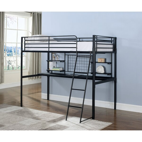 Wenham Contemporary Twin Bunk Configuration Bed with Workstation by Zoomie Kids