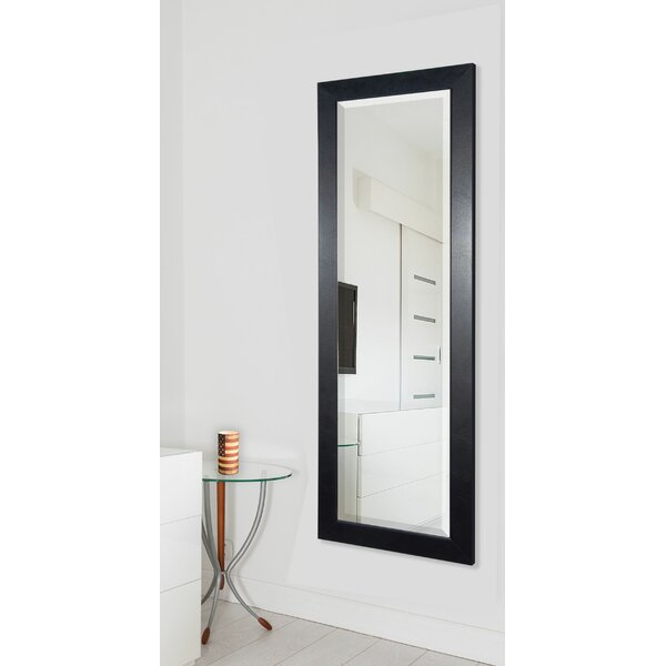 Black Superior Full Length Body Mirror by Darby Home Co