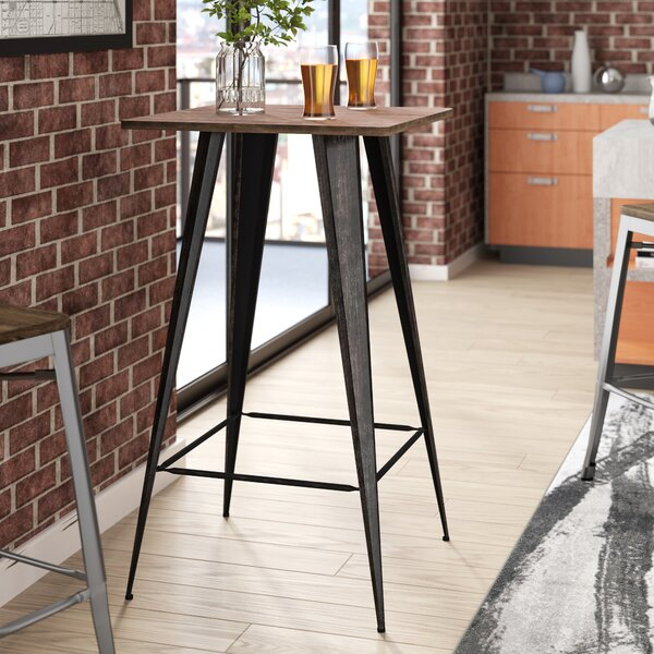 Gaetana Rectangular Counter Height Pub Table By 17 Stories 2019 Sale