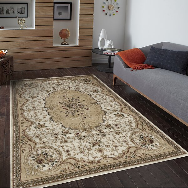 Cream/Beige Area Rug by Persian-rugs