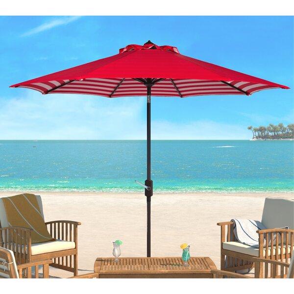 Hookton Crank 8.5 Market Umbrella By Breakwater Bay by Breakwater Bay 2020 Coupon