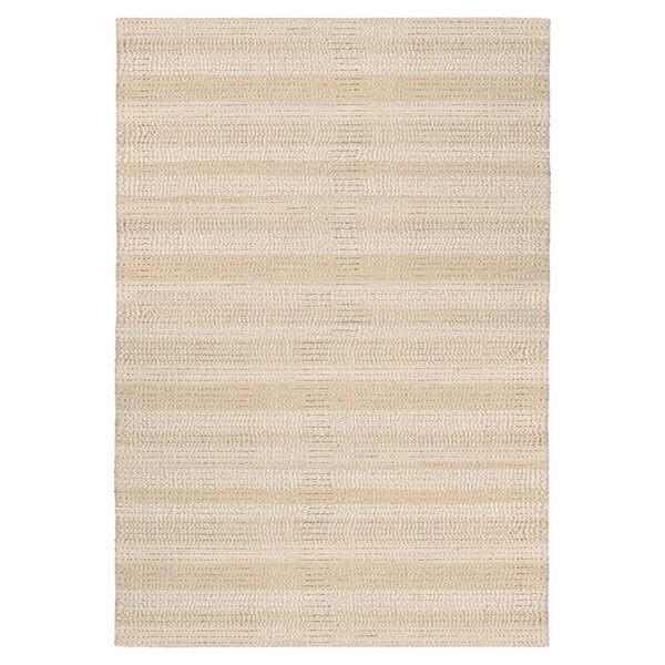 Meadow Hand-Loomed Bone Area Rug by Calvin Klein