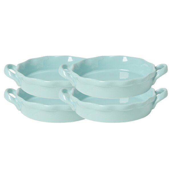 Witt Creme Brulee Cookware Set (Set of 4) by Now Designs