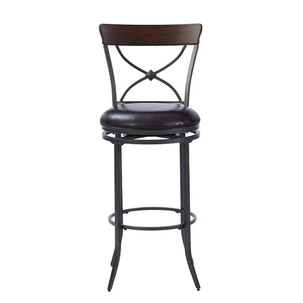 Royalton 30 Swivel Bar Stool by Red Barrel Studio
