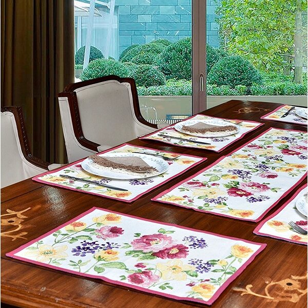 Morita Rose Garden 19 Placemat (Set of 6) by August Grove