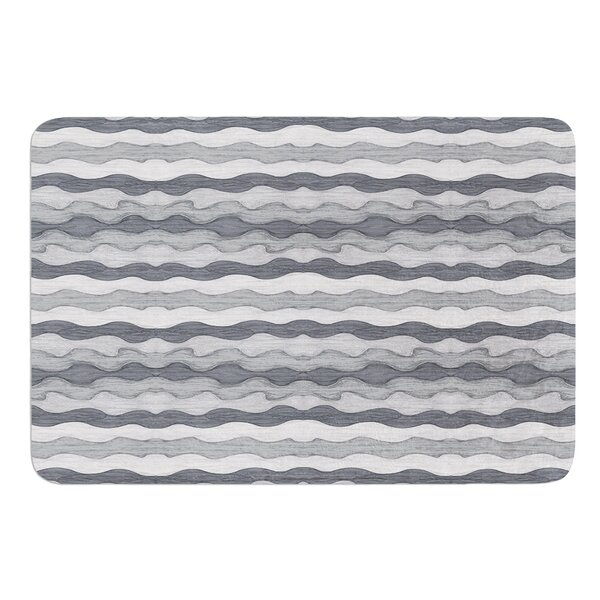 51 Shades of Gray by Empire Ruhl Bath Mat by East Urban Home
