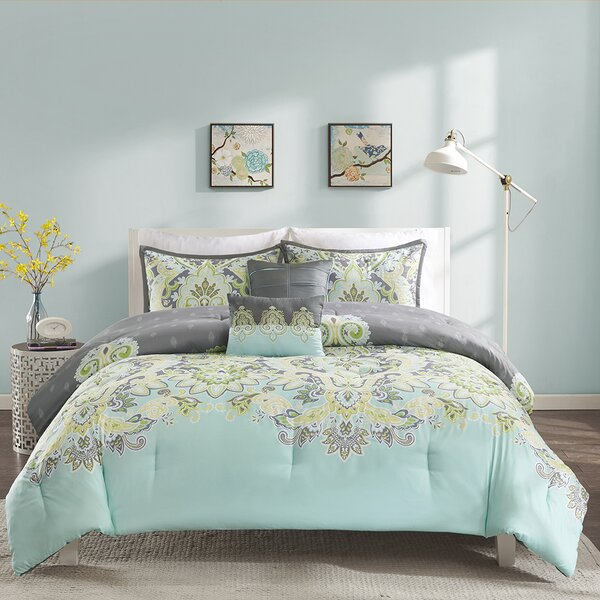 Jazouli Comforter Set by World Menagerie