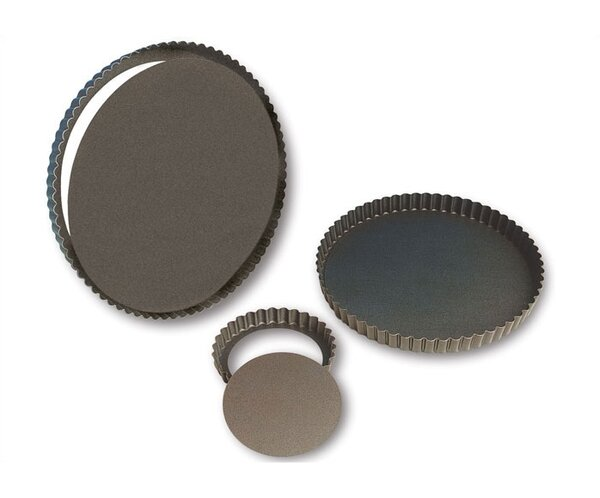 Non Stick Fluted Tart Mold (Set of 2) by Paderno World Cuisine