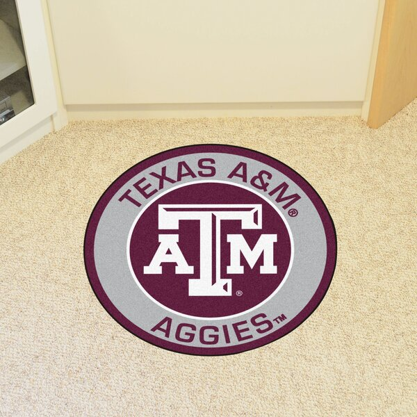 NCAA Texas A&M University Roundel Mat by FANMATS