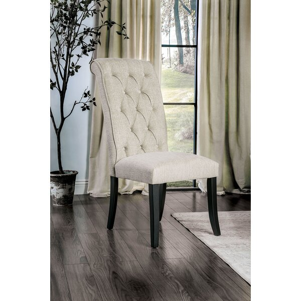 Bromsgrove Upholstered Dining Chair by Alcott Hill