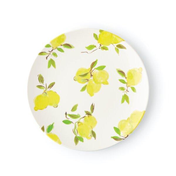 Lemon Melamine, Dinner Plate (Set of 2) by kate spade new york
