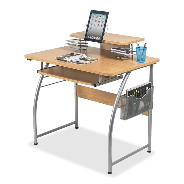 Upper Shelf Laminate Computer Desk