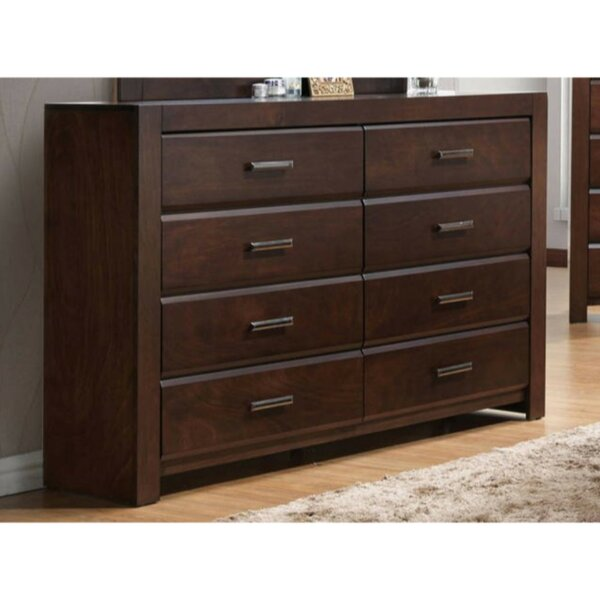 Ontario Wooden 8 Drawer Double Dresser by Ivy Bronx