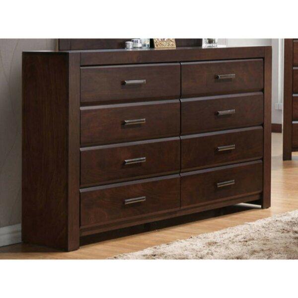 Ontario Wooden 8 Drawer Double Dresser by Ivy Bronx Ivy Bronx