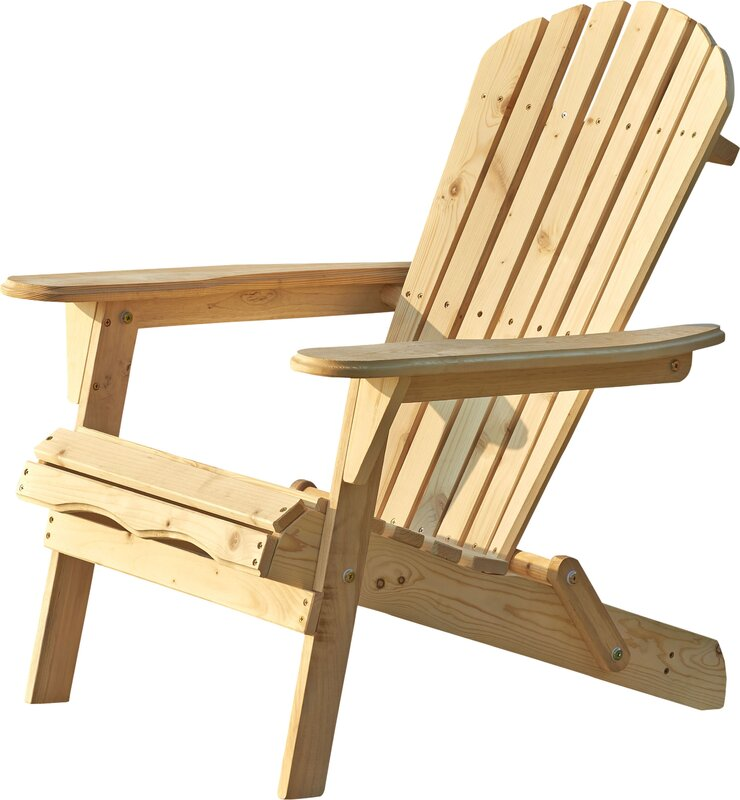 beachcrest home cuyler adirondack chair & reviews | wayfair