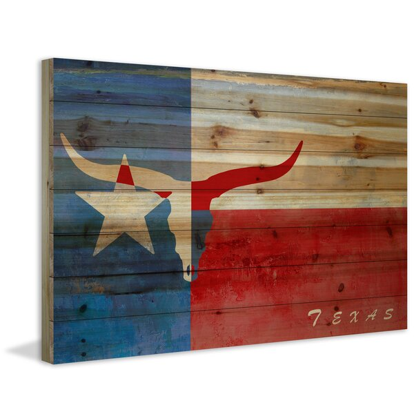 Texan Origins Painting Print on Wood by Marmont Hill