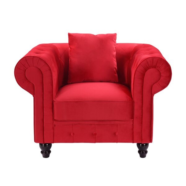 Jone Chesterfield Chair by House of Hampton