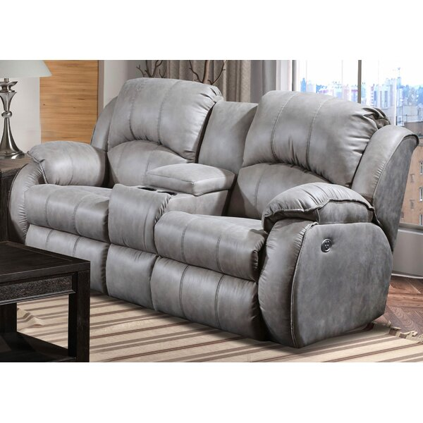 Dashing Collection Cagney Reclining Loveseat by Southern Motion by Southern Motion
