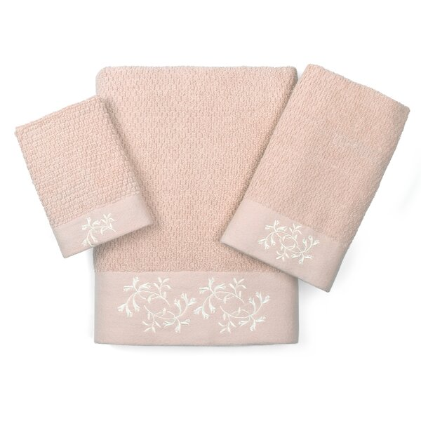 Dourdain 3 Piece Towel Set by August Grove