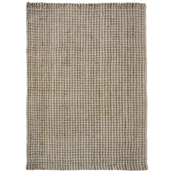 Allyssa Hand-Woven Natural Area Rug by Gracie Oaks