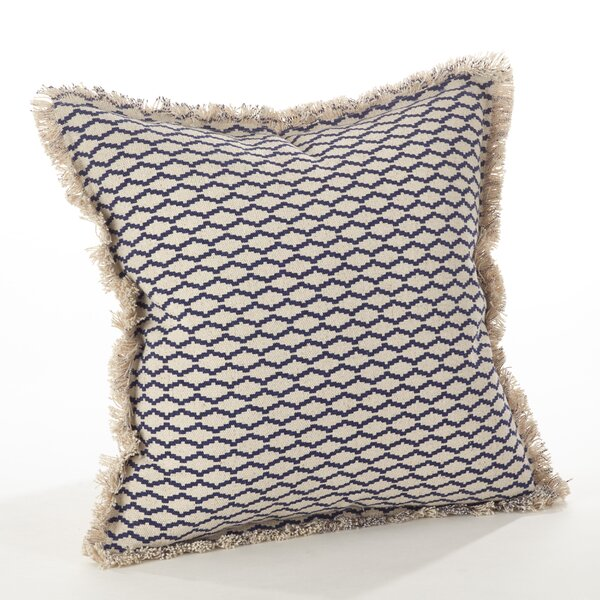 Roseanna Cotton Throw Pillow by Highland Dunes