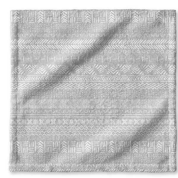 Dalton Cloth Washcloth with Single Sided Print by Mistana