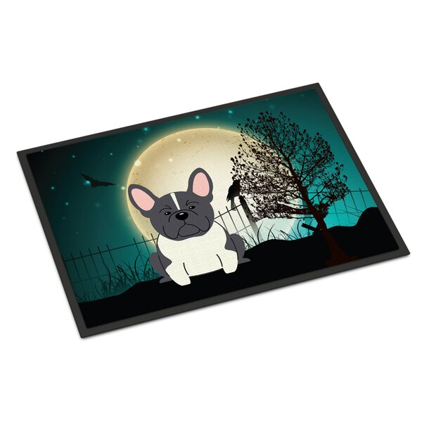 Halloween Scary French Bulldog Doormat by Caroline's Treasures