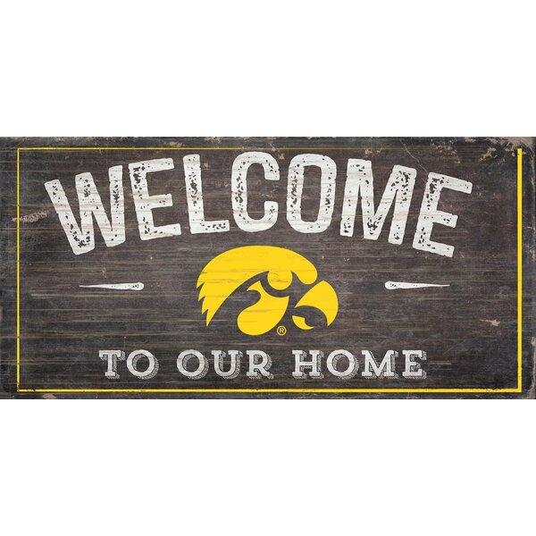 Fan Creations NCAA Ohio State Buckeyes 12 House Shaped Wood Sign
