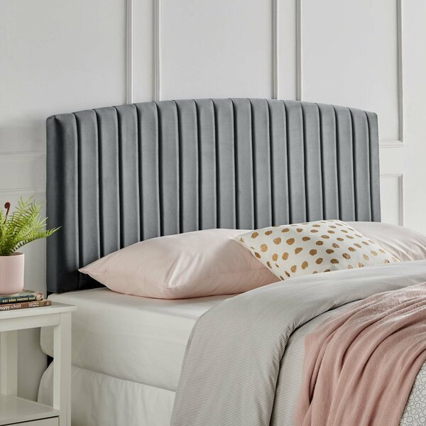 Colunga Upholstered Panel Headboard by Everly Quinn Everly Quinn