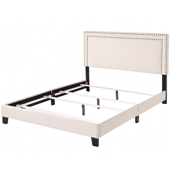 Upholstered Standard Bed by Lumibee