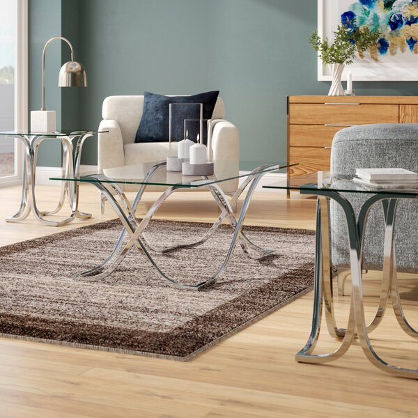 Bingaman 3 Piece Coffee Table Set by Orren Ellis