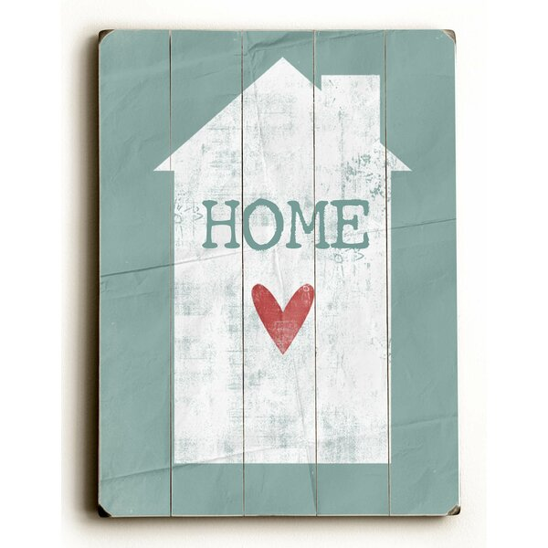 Home with Heart Wall Art by Latitude Run