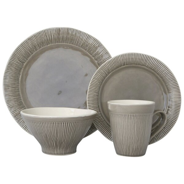Chromatic 16 Piece Dinnerware Set, Service for 4 by Sango