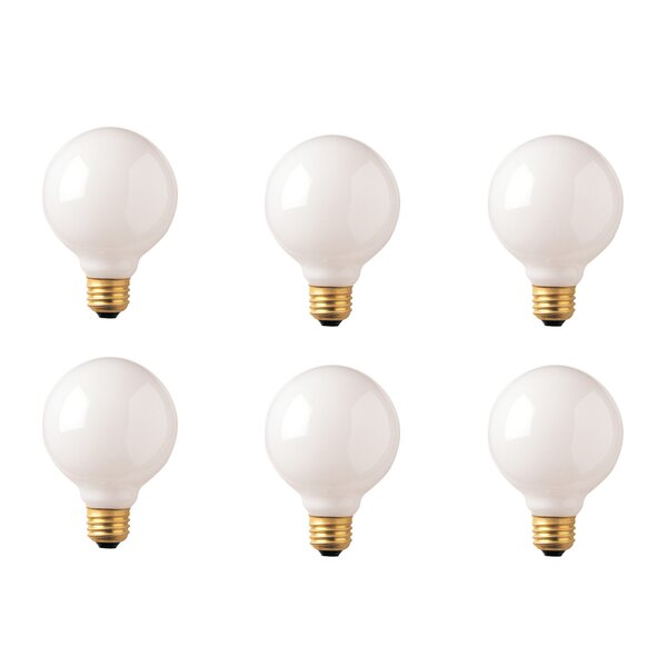 E26 Dimmable Incandescent Globe Light Bulb (Set of 12) by Bulbrite Industries