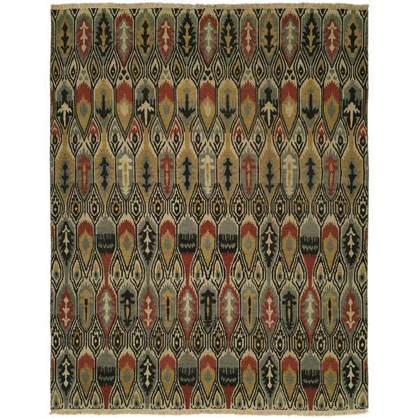Dalian Hand-Woven Gold/Gray Area Rug by Wildon Home ®