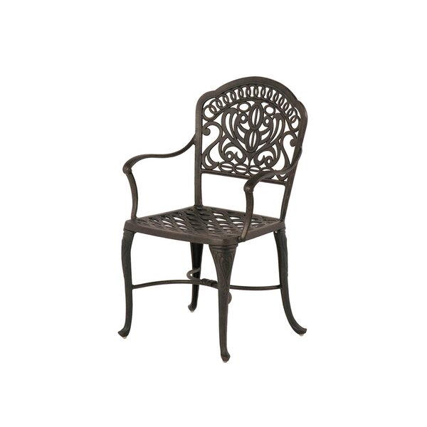 Merlyn Patio Dining Chair (Set of 2) by Fleur De Lis Living