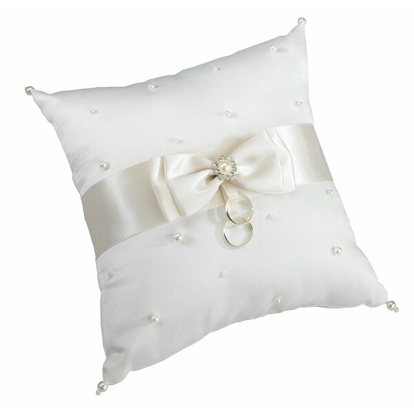Scattered Pearl Ring Bearer Pillow by Lillian Rose