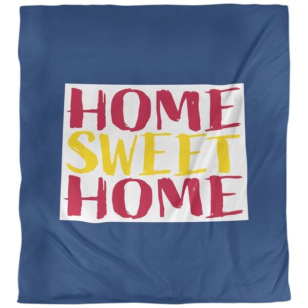 Home Sweet Colorado Duvet Cover