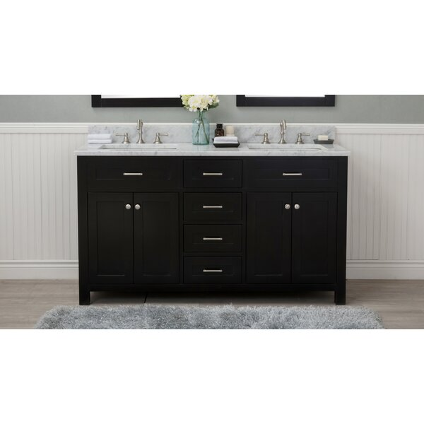 Alvarenga 60 Double Bathroom Vanity Set by Winston Porter