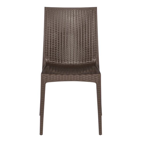 Quade Stacking Patio Dining Chair (Set of 2) by Winston Porter Winston Porter