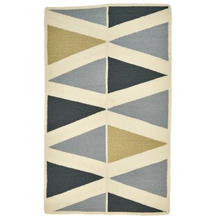 Carrington Gray/Yellow/Black Indoor/Outdoor Area Rug By Wrought Studio