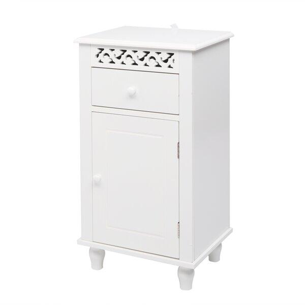 Godin 15.75 W x 28.35 H x 11.81 D Free-Standing Bathroom Cabinet
