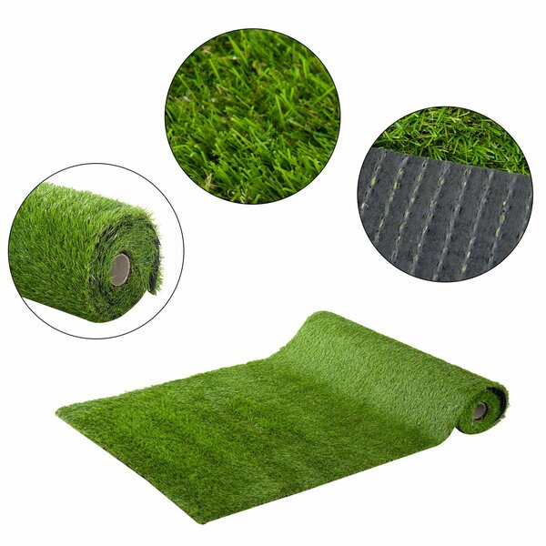 Floor Turf Grass by Winston Porter