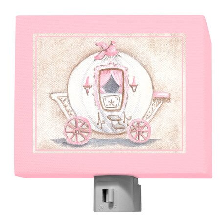 Little Princess Carriage Night Light by Oopsy Daisy