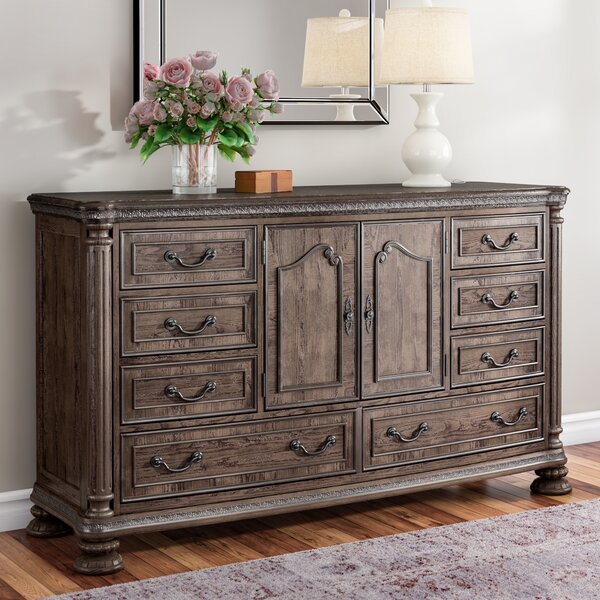Traditional 8 Drawer Dresser by One Allium Way