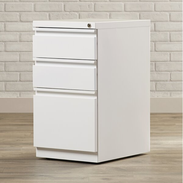 Mckamey 3 Drawer Mobile Pedestal File Cabinet by Brayden Studio