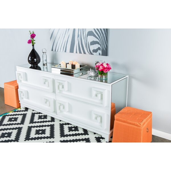 Chenley 4 Drawer Double Dresser by Mercer41
