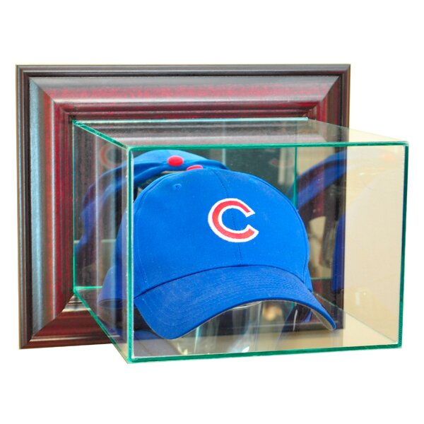 Wall Mounted Cap and Hat Display Case by Perfect Cases