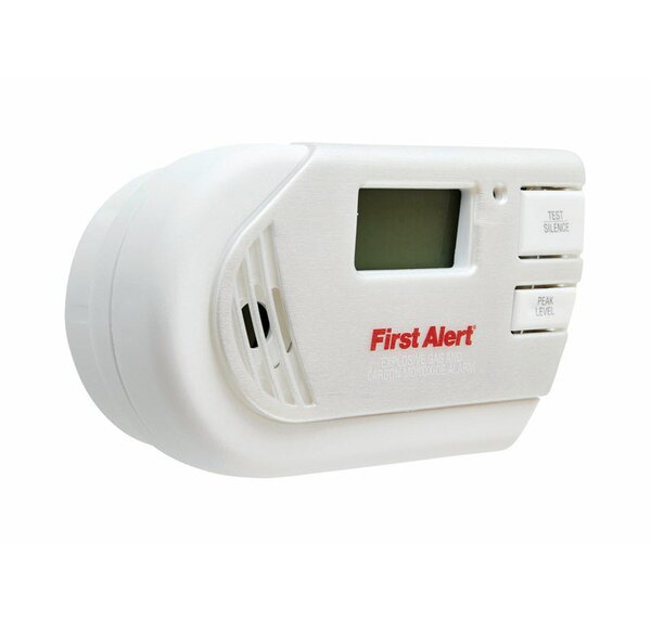 Plug-in Electrochemical Explosive Gas and Carbon Monoxide Alarm by First Alert