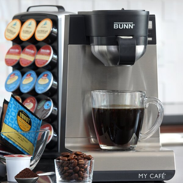 My Cafe Single Cup Multi-Use Home Coffee Maker by Bunn